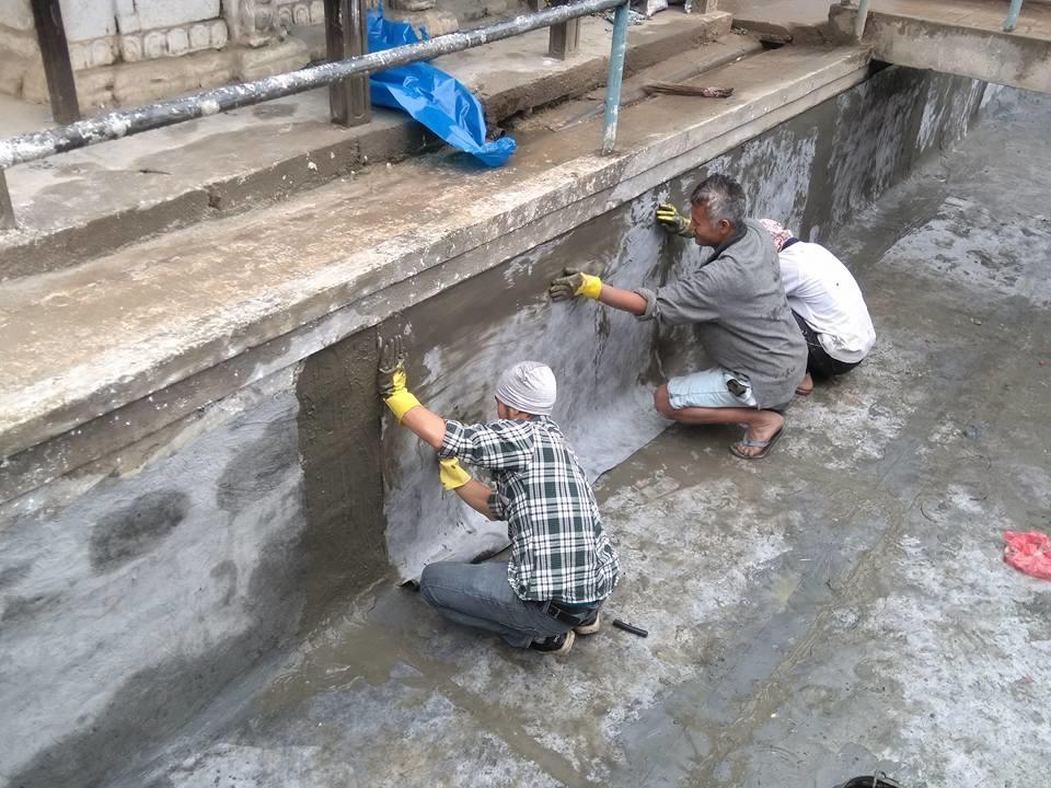 Chandragirinews machaegaun3 मछेगाउँ मन्दिर क्षेत्रमा पुन: निर्माण मछेगाउँ    chandragiri