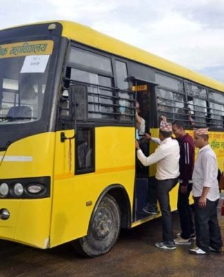 Chandragirinews Nepal-Army-Bus-Service--324x400 Home    chandragiri